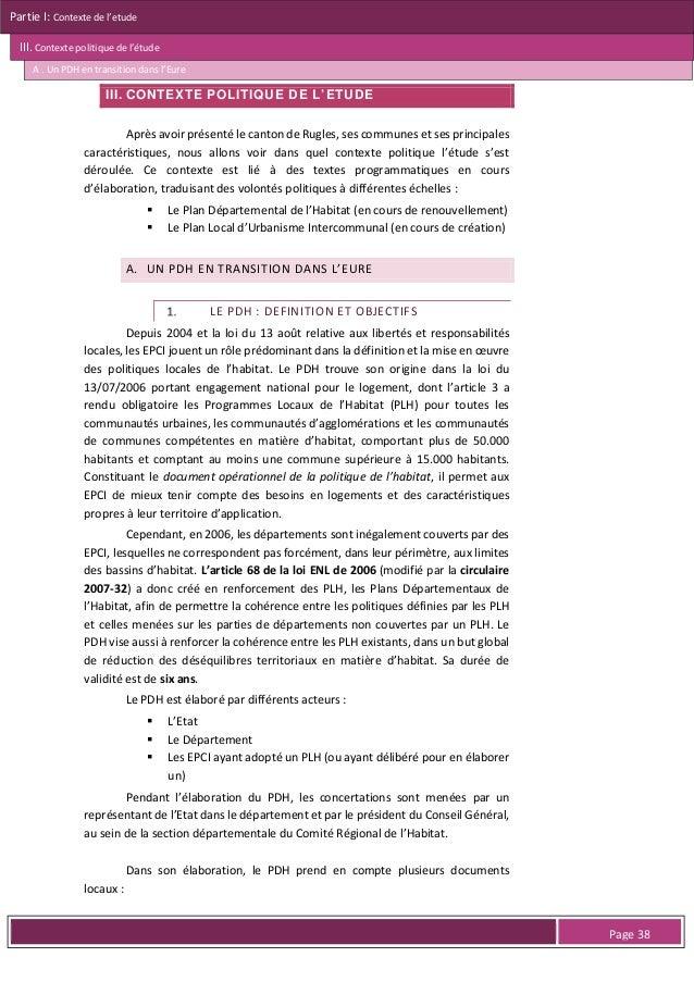 Partie I: Contexte de l'etude III. Contexte politique de l'étude B . Un PLUi en cours de gestation pour le canton de Rugle...