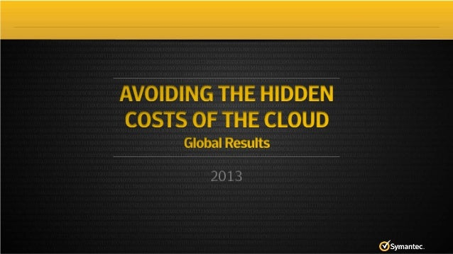 2013 State of Cloud Survey Global Results