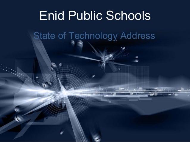 Enid Public Schools State of Technology Address