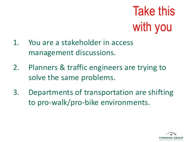 Because traffic engineering should not dictate land use and development planning.