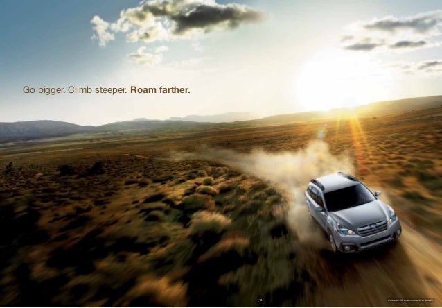 2013 subaru outback brochure tennessee subaru dealer. Black Bedroom Furniture Sets. Home Design Ideas