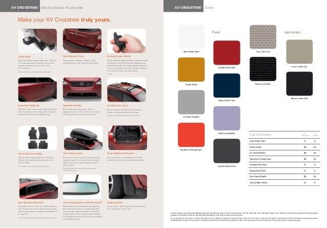 Towing Capacity Subaru Crosstrek >> 2013 Subaru XV Crosstrek Brochure | Tennessee Subaru Dealer