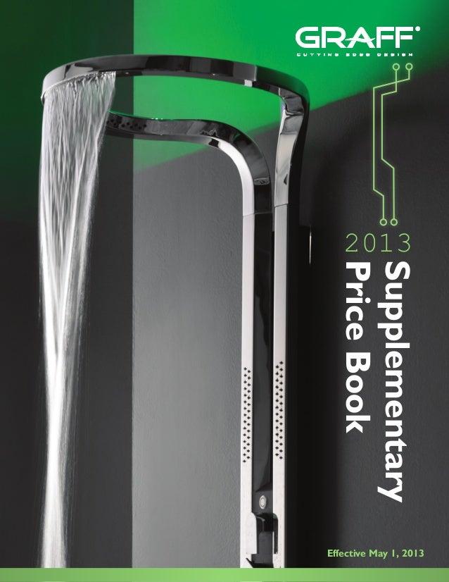 c u t t i n g   e d g e   d e s i g n                2013            Price Book            Supplementary         Effective...
