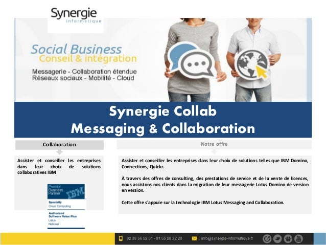 Synergie Collab                        Messaging & Collaboration           Collaboration                                  ...