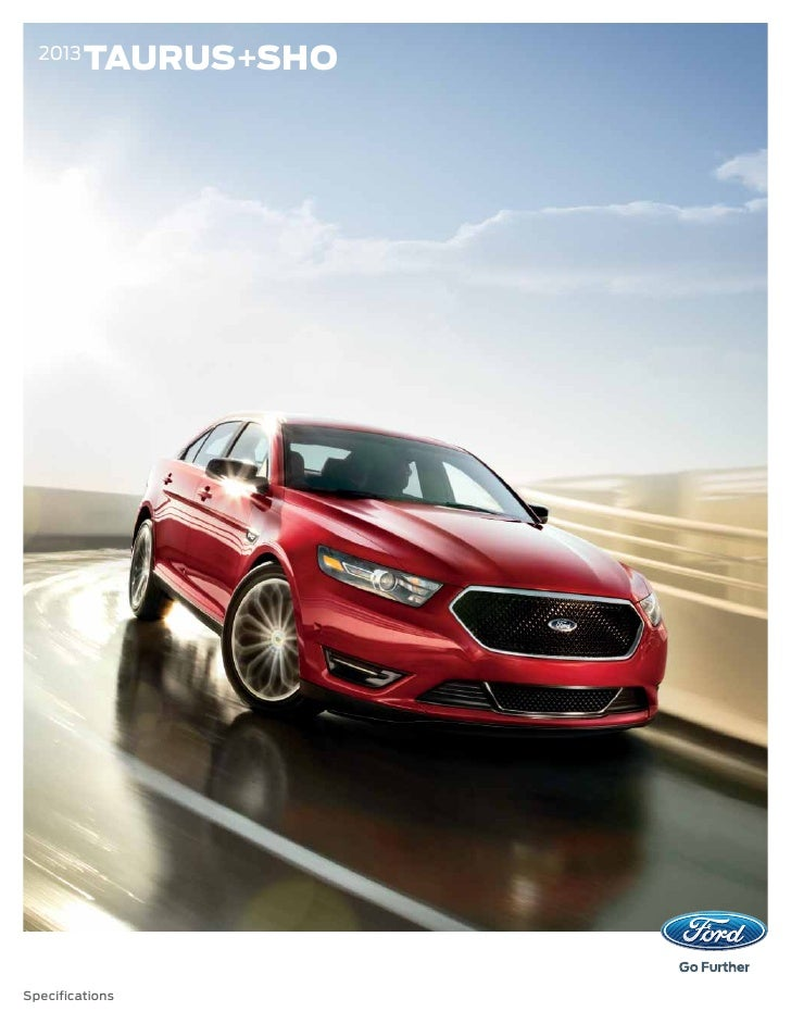 Worksheet. 2013 Ford Taurus Specs
