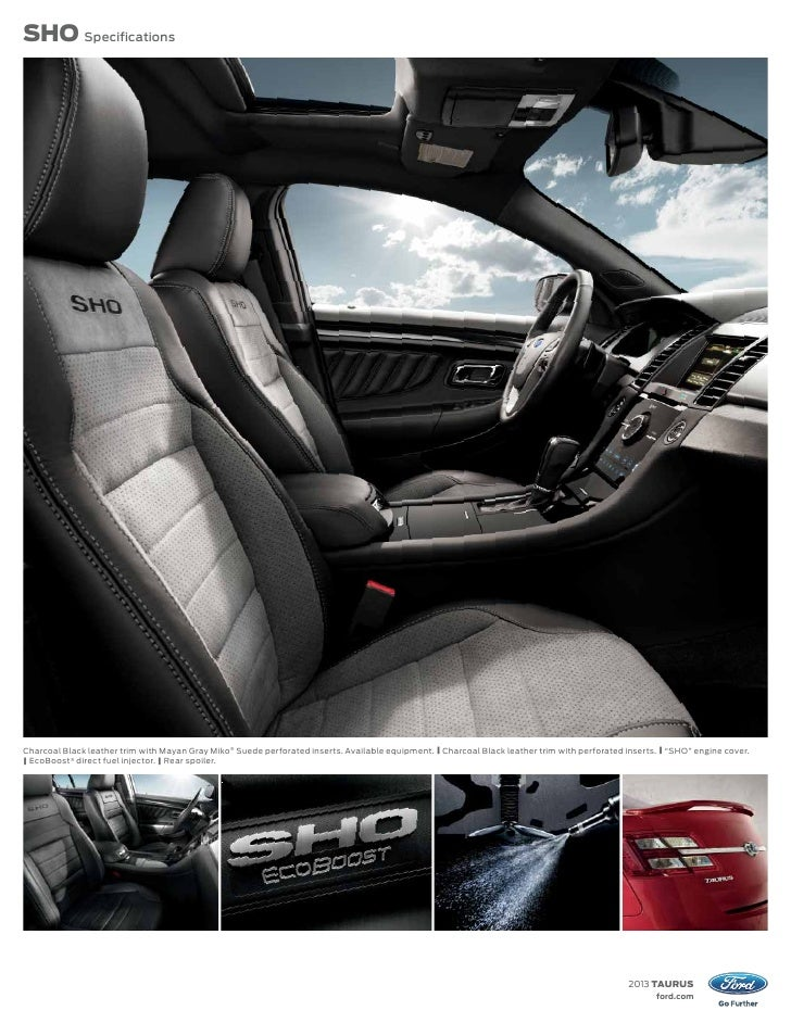 2013 ford taurus specs. Black Bedroom Furniture Sets. Home Design Ideas
