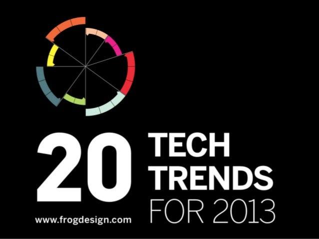 2013 Tech Trends