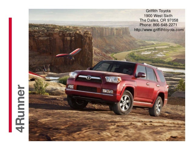 Griffith Toyota The Dalles >> 2013 Toyota 4Runner Brochure OR | Portland Toyota Dealer