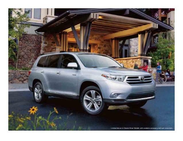 Portland Toyota Dealers >> 2013 Toyota Highlander Brochure Or Portland Toyota Dealer