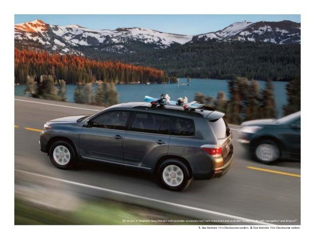 2013 Toyota Highlander Brochure NY | Queens Toyota Dealer