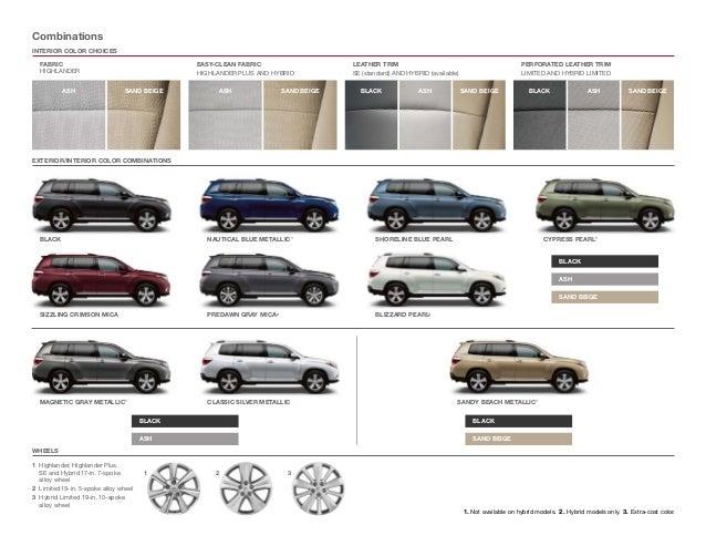 2013 Toyota Highlander Brochure IL | Toyota dealer serving Peoria
