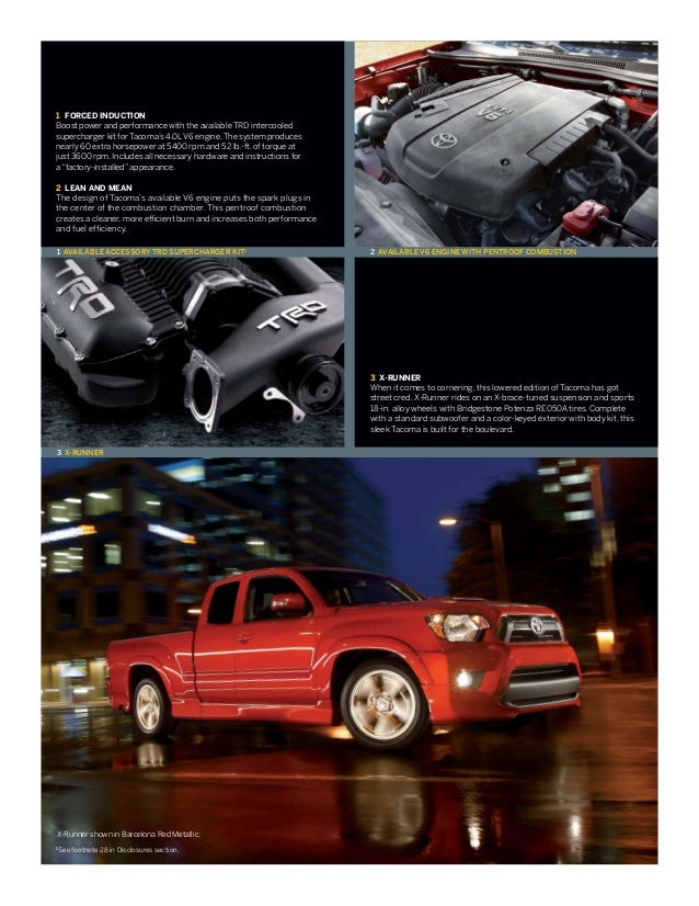 2013 Toyota Tacoma Brochure Il Toyota Dealer Serving Peoria