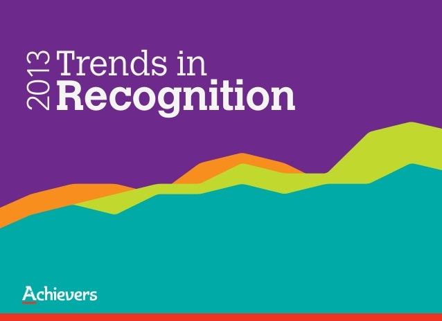 Trends in2013   Recognition