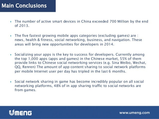 Main Conclusions } High-end smart phones (pricing above 500US$) have a significant market share in China, contributing 2...