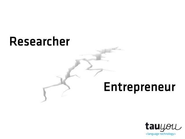 ResearcherEntrepreneur