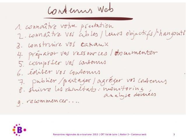 """Présentation atelier """"De meilleurs contenus: gagner et fidéliser les internautes"""" Slide 3"""