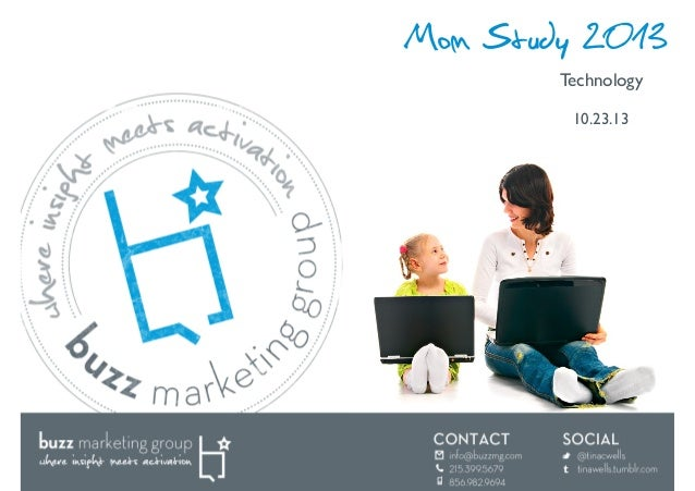 Mom Study 2013 Technology  10.23.13