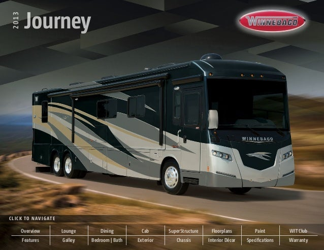 2013         JourneyC l i c k t o N av i g at e        Overview              Lounge       Dining         Cab      SuperStr...
