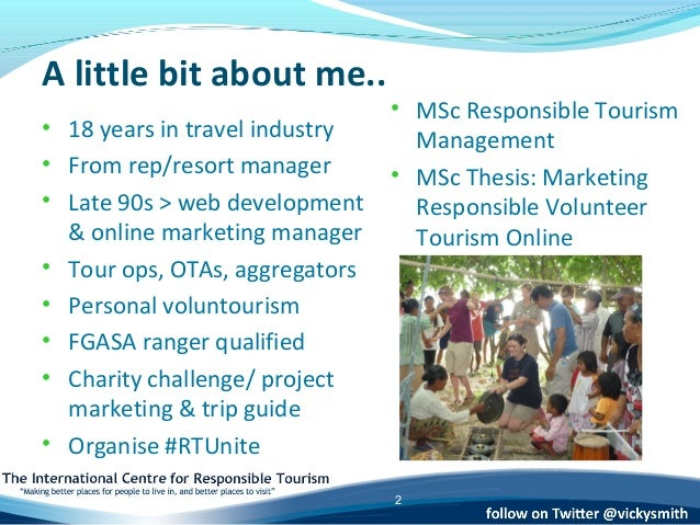 volunteer tourism dissertation pdf Aalborg university faculty of humanities tourism the expectations and motivations of canadian baby boomers as a potential segment in volunteer tourism.