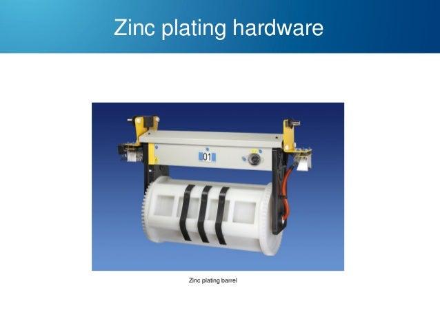 Zinc plating hardware  Zinc plating barrel