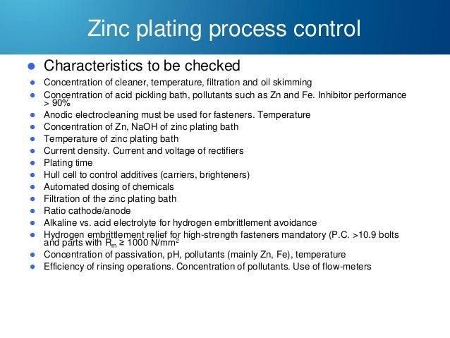characteristics of zinc