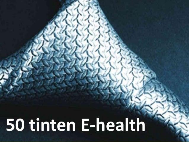 50 tinten E-health