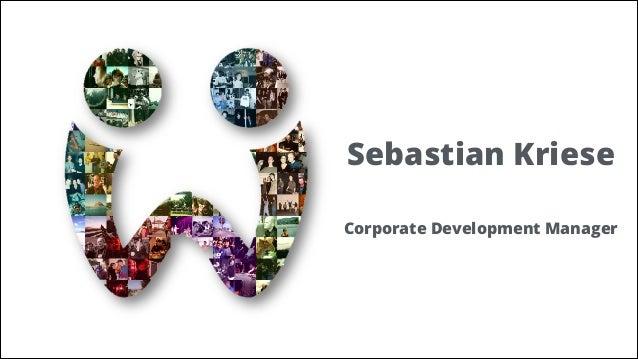Sebastian Kriese !  Corporate Development Manager