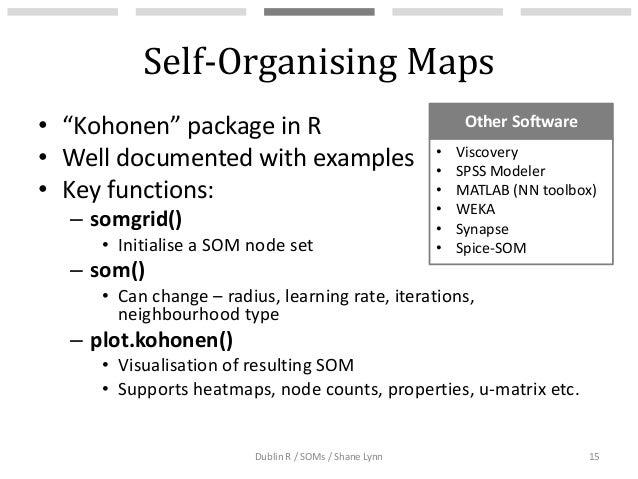 Self-Organising Maps for Customer Segmentation using R