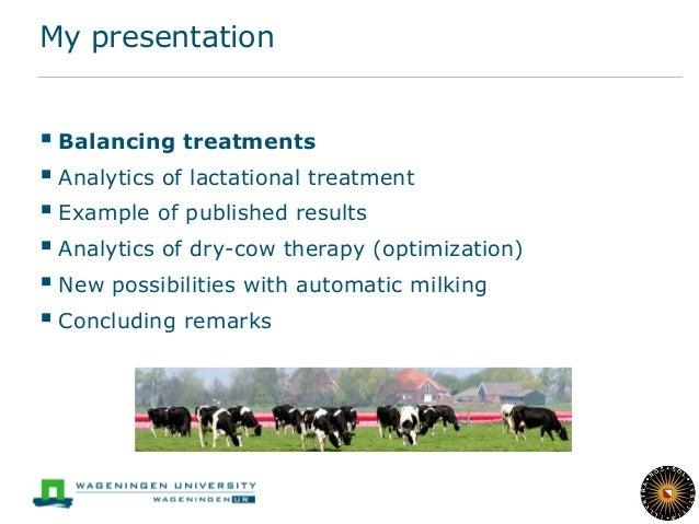 Balancing antibiotic treatment with regard to mastitis Slide 3
