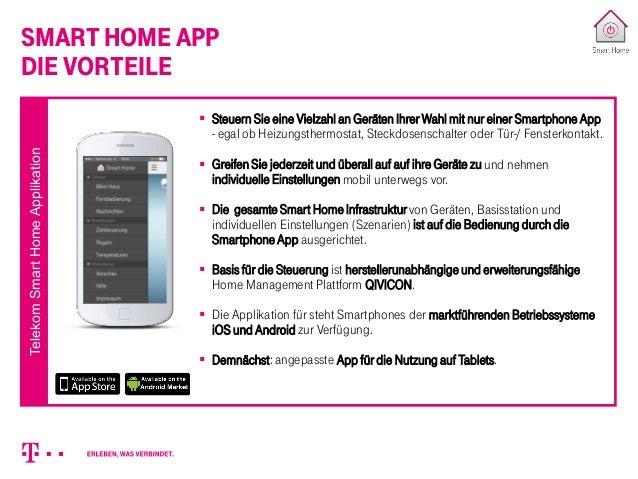 deutsche telekom smarthome eine einf hrung. Black Bedroom Furniture Sets. Home Design Ideas
