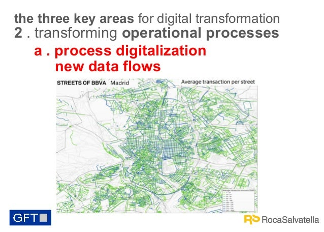 the three key areas for digital transformation  2 . transforming operational processes a . process digitalization new data...