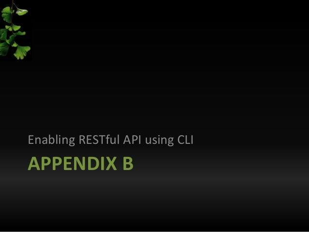 Cisco CSR1000V, VMware, and RESTful APIs