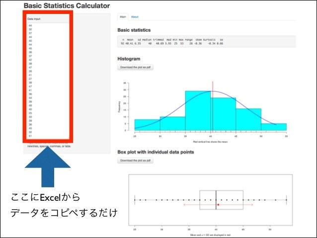 量的データの分析・報告で気をつけたいこと