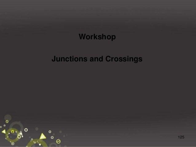 126 Workshop - Crossing Waterloo Street Side Road Entrances Pedestrians
