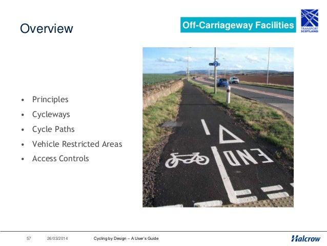 26/03/201458 When to Segregate? Off-Carriageway Facilities 1000 peds/hr/metre width (0.2 peds/m length/m width) 50m length...
