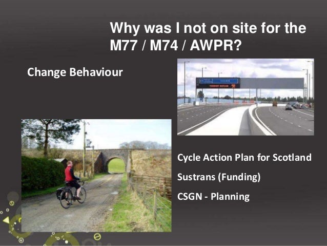 How would you look to change people towards cycling in Aberdeen? You - What is your role