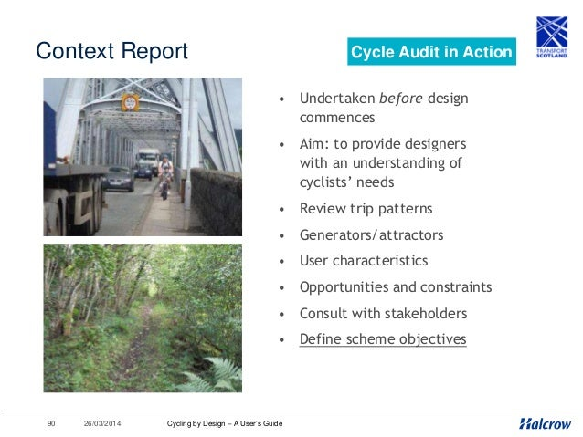 26/03/201491 S1 & S2 Design Audits • Undertaken at key points in design process • Aim: to check that design meets with def...