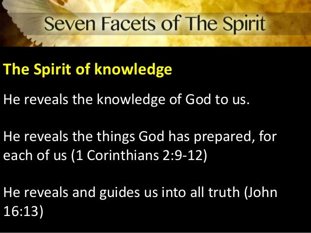 spirit work ch 16 Luke, the writer of the words you quoted from acts 16, had evidently  in acts  chapter 5, peter accused ananias of lying to the holy spirit (v3),.