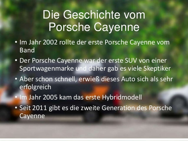 Porsche Cayenne Slide 2
