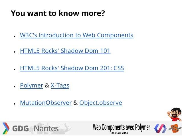 X, tag, web Components