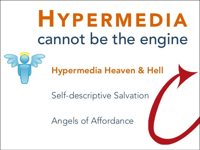 Hypermedia Cannot be the Engine Slide 3