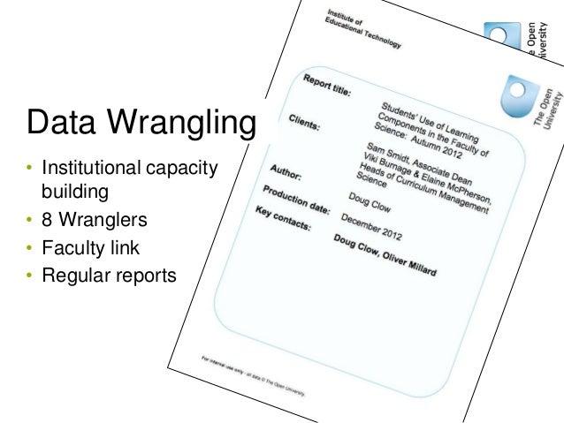 Data Wranglers: Human data interpreters to close the