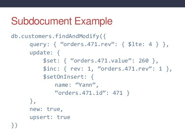 Concurrency Patterns With Mongodb