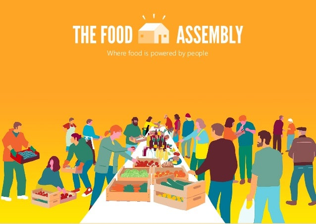 Where food is powered by people