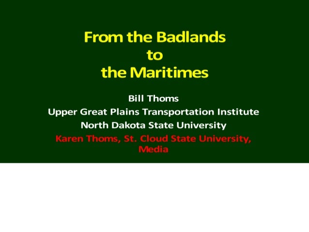 """I. The Badlands • From the French, mauvais terres a traverser (bad lands to cross) in Western North Dakota • A """"phantom re..."""