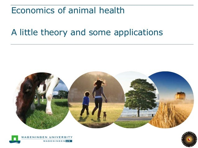 Economics of animal health A little theory and some applications