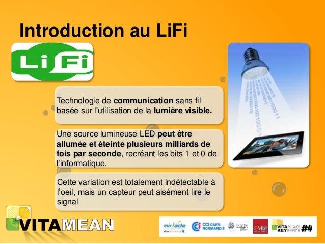 Pourquoi le LiFi maintenant? • Forte demande de données sans fil • Moins de bandes de fréquences disponibles • Trop de pol...