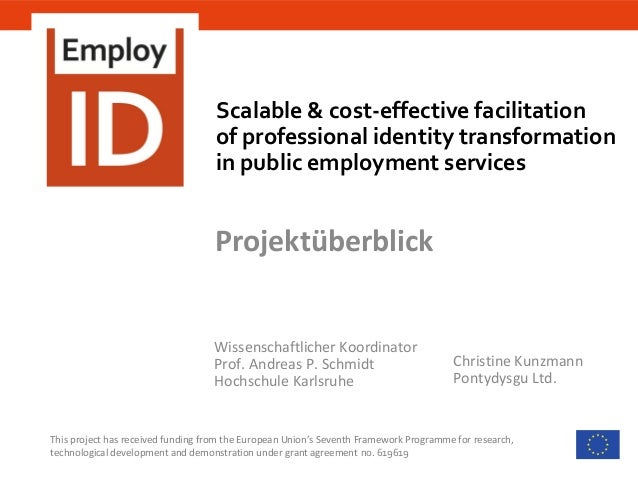 Scalable & cost-effective facilitation of professional identity transformation in public employment services This project ...