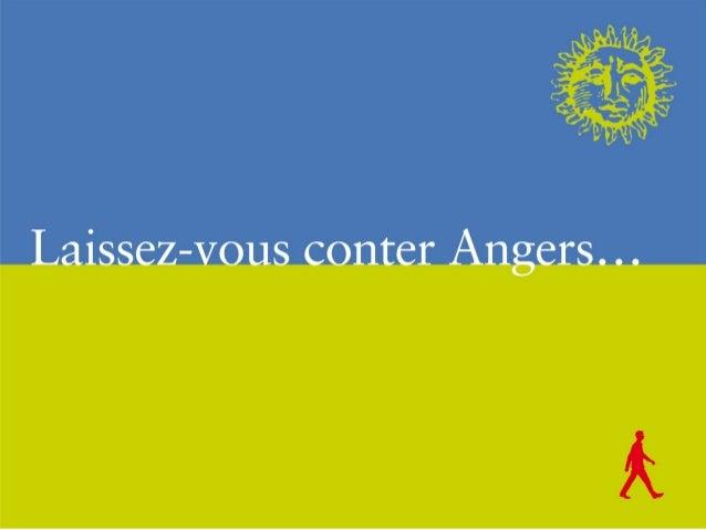 « Laissez-vous conter Angers au fil du tramway »
