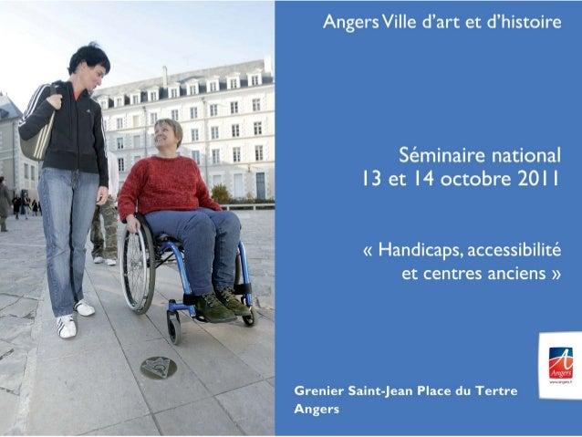 Laissez-vous conter Angers • Un outil innovant accessible • Gratuit